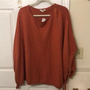 LOFT oversized poncho, new with tags